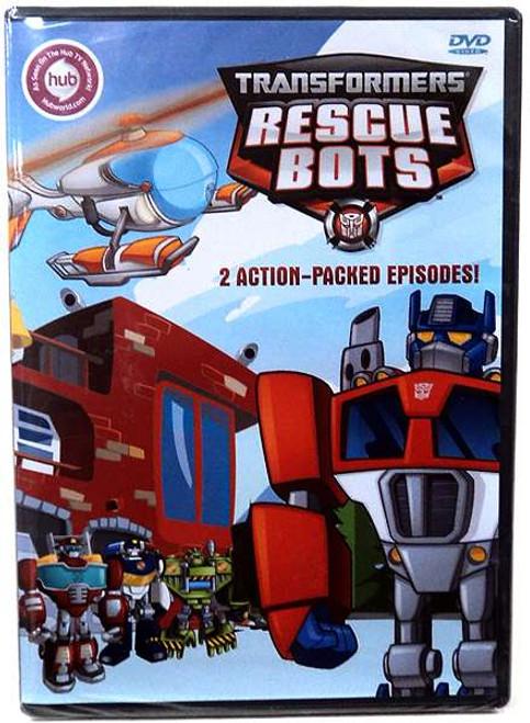 Playskool Heroes Transformers Rescue Bots DVD