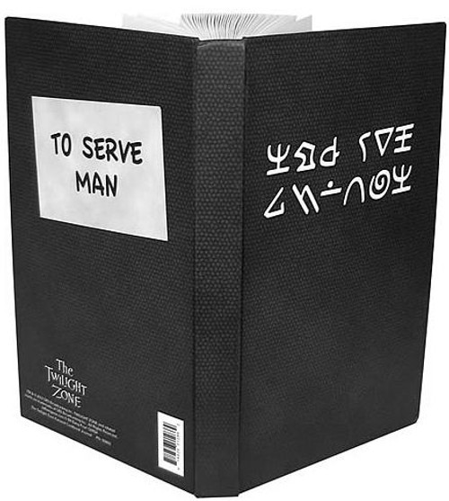 The Twilight Zone To Serve Man Cookbook Journal