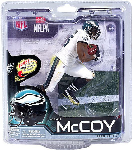 McFarlane Toys NFL Philadelphia Eagles Sports Picks Series 31 LeSean McCoy Action Figure [White Jersey]