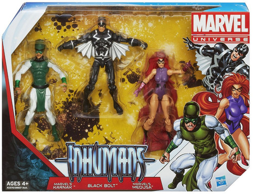 Marvel Universe Super Hero Team Packs The Inhumans Action Figure Set