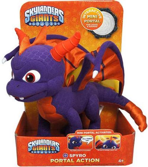 Skylanders Giants Portal of Power Spyro the Dragon 10-Inch Plush