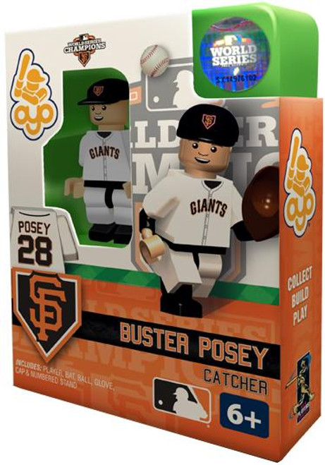 San Francisco Giants MLB 2012 World Series Champions Buster Posey Minifigure