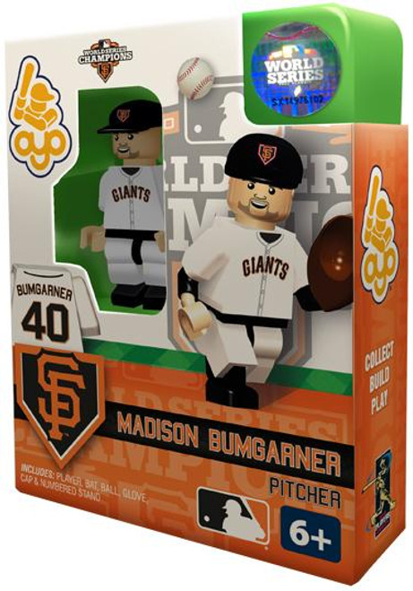 San Francisco Giants MLB 2012 World Series Champions Madison Bumgarner Minifigure