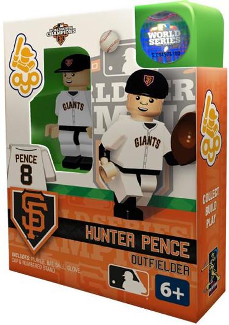 San Francisco Giants MLB 2012 World Series Champions Hunter Pence Minifigure