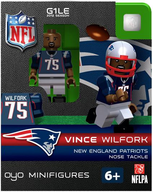 New England Patriots NFL Generation 1 2012 Season Vince Wilfork Minifigure