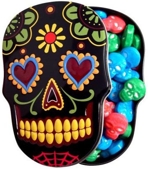 Sugar Skull Candy Tin [Black]