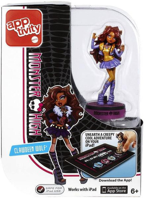 Monster High Apptivity Finders Creepers Clawdeen Wolf Figure
