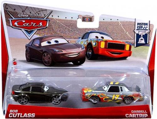 Disney Cars Series 3 Bob Cutlass & Darrell Cartrip Diecast Car 2-Pack