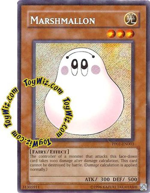 YuGiOh GX Premium Pack 1 Secret Rare Marshmallon PP01-EN003
