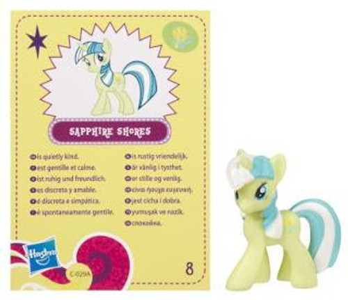 My Little Pony Series 4 Sapphire Shores 2-Inch PVC Figure