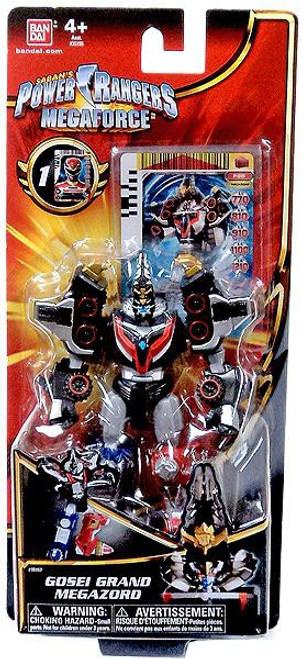 Power Rangers Megaforce Gosei Grand Megazord Action Figure