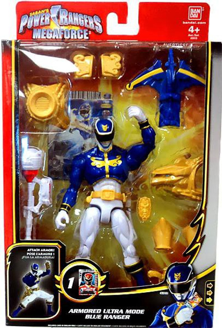 power rangers megaforce deluxe armored ultra mode blue