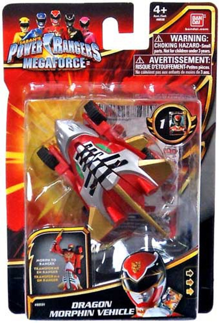 Power Rangers Megaforce Dragon Morphin Vehicle Action Figure Vehicle