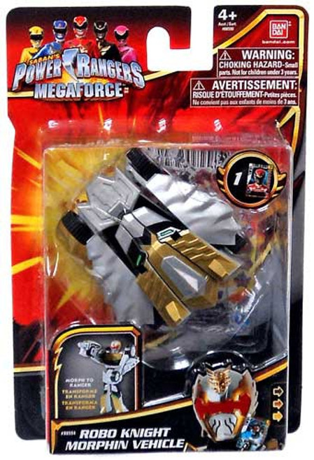 Power Rangers Megaforce Robo Knight Morphin Vehicle Action Figure Vehicle