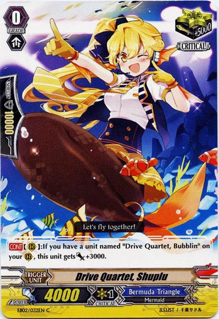 Cardfight Vanguard Banquet of Divas Common Drive Quartet, Shuplu EB02-032