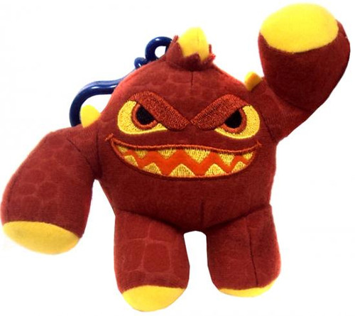 Skylanders Giants Eruptor 4-Inch Plush Clip On