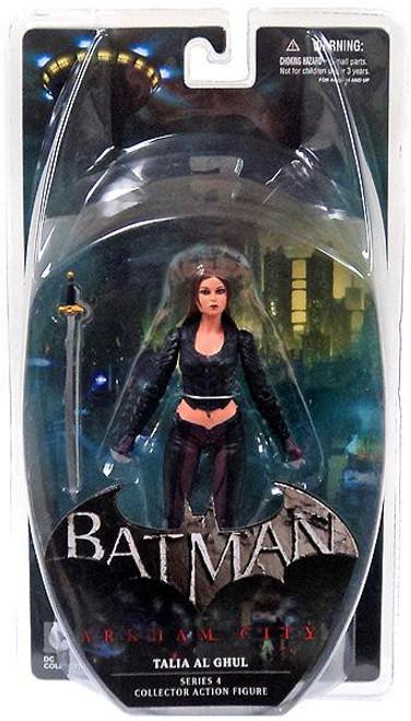 Batman Arkham City Series 4 Talia Action Figure
