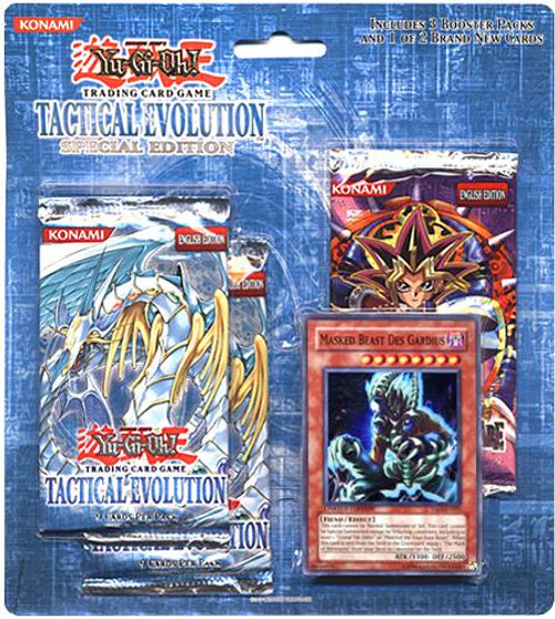 YuGiOh Tactical Evolution Special Edition Pack [Masked Beast Des Gardius] [Sealed]