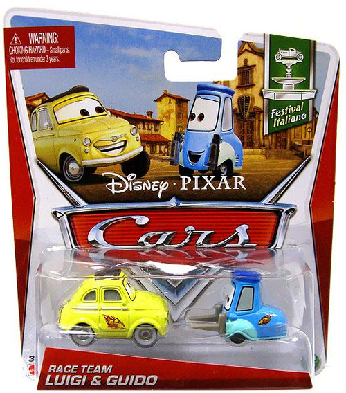 Disney Cars Series 3 Race Team Luigi & Guido Diecast Car 2-Pack