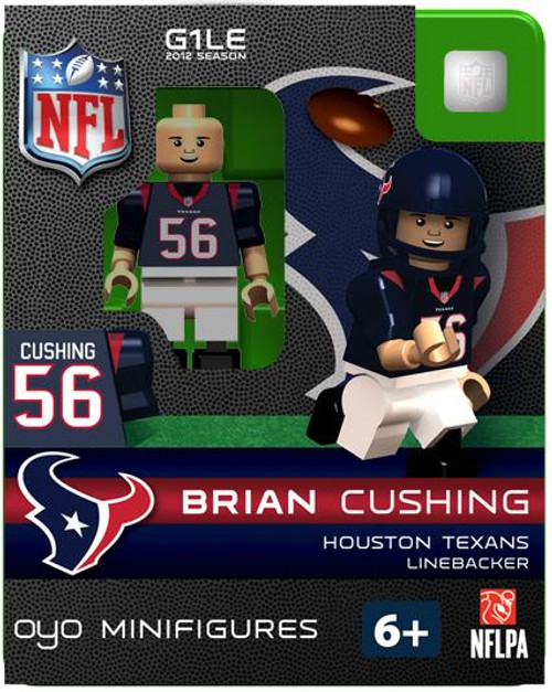 Houston Texans NFL Generation 1 2012 Season Brian Cushing Minifigure