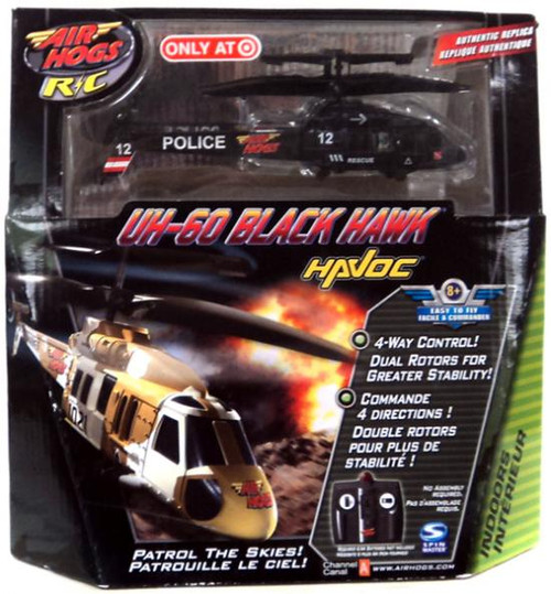 AIr Hogs Havoc Heli UH-60 Black Hawk Exclusive R/C Vehicle [Police]