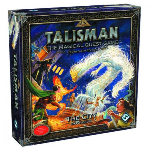 Talisman The City Board Game Expansion