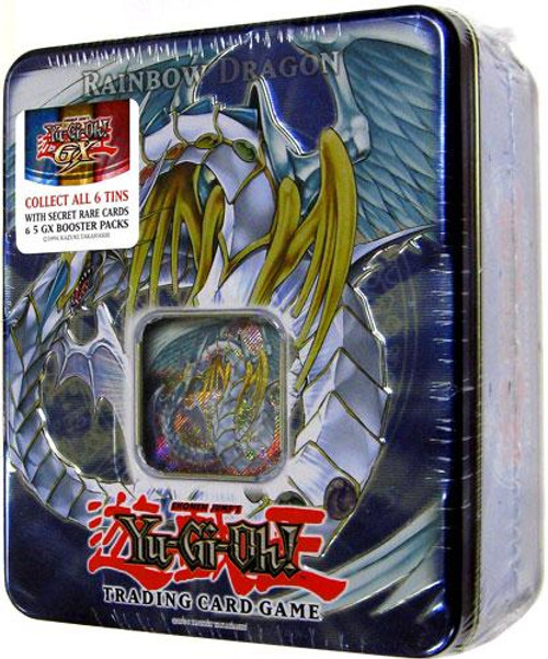 YuGiOh GX 2007 Collector Tin Rainbow Dragon Collector Tin [Sealed]