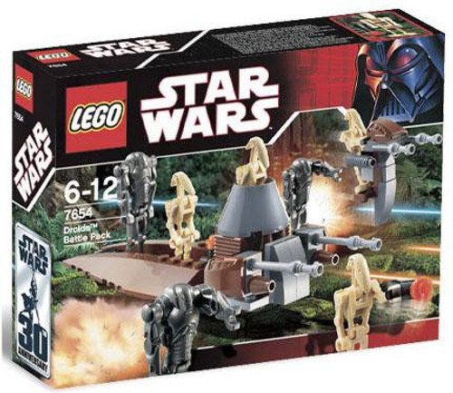 LEGO Star Wars Revenge of the Sith Droids Battle Pack Set #7654