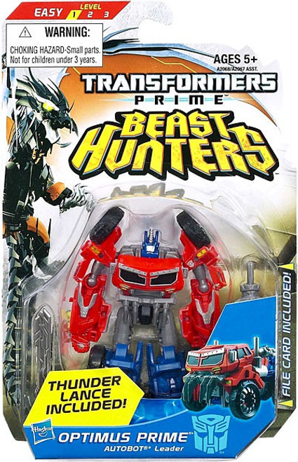 Transformers Beast Hunters Commander Optimus Prime Commander Action Figure