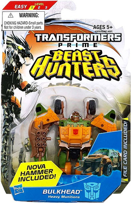 Transformers Prime Beast Hunters Commander Bulkhead Commander Action Figure