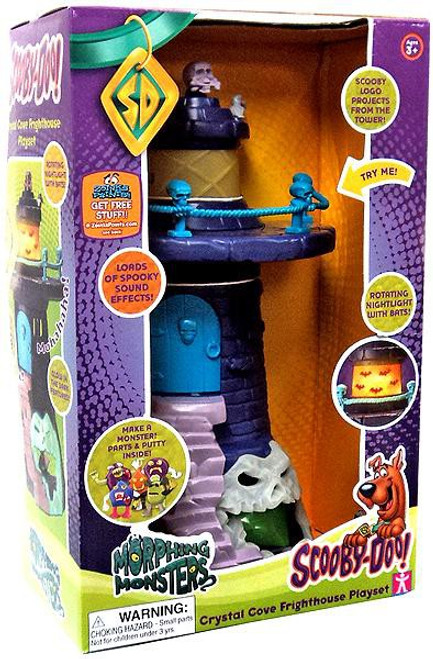 Scooby Doo Morphing Monsters Crystal Cove Frighthouse Playset