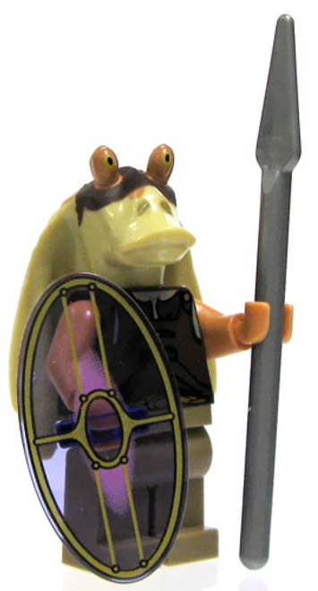 LEGO Star Wars Loose Gungan Warrior Minifigure [Spear & Shield Loose]