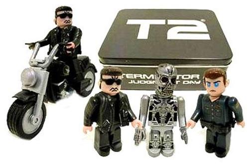 The Terminator Terminator 2 Judgment Day Terminator 2 Kubrick Tin Set