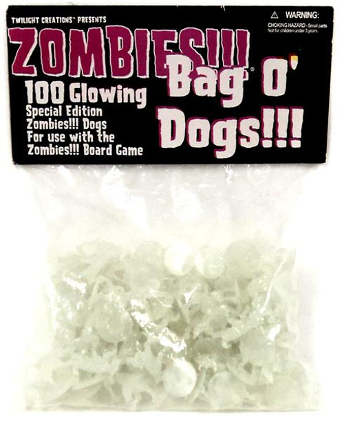Zombies Bag-O-Dogs Board Game Accessory [Glow in the Dark]