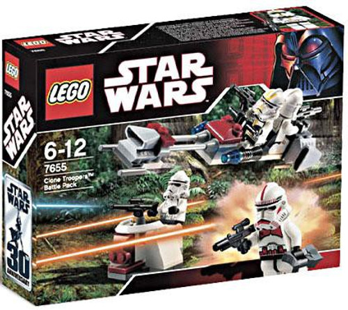 LEGO Star Wars The Clone Wars Clone Troopers Battle Pack Set #7655