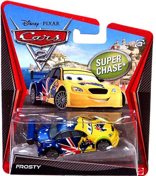 Disney Cars Cars 2 Main Series Frosty Diecast Car [Australia]