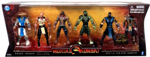 Mortal Kombat 20th Anniversary Action Figure 6-Pack