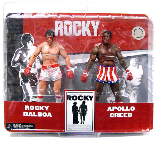NECA Rocky Balboa & Apollo Creed Exclusive Action Figure 2-Pack [Post Fight]