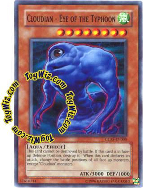 YuGiOh GX Gladiator's Assault Super Rare Cloudian - Eye of the Typhoon GLAS-EN005