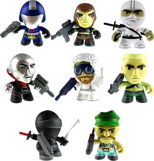 GI Joe Series 1 Set of 8 3-Inch Vinyl Figures [Loose]