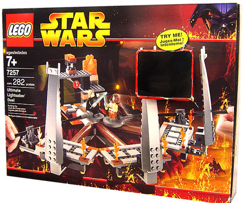 LEGO Star Wars Revenge of the Sith Ultimate Lightsaber Duel Set #7257 [Damaged Package]