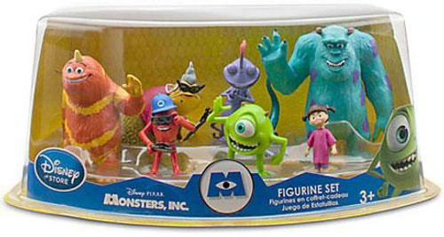 Disney / Pixar Monsters Inc Figurine Set Exclusive