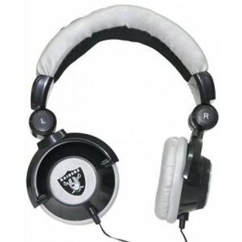 NFL Sports Pro DJ Oakland Raiders Headphones