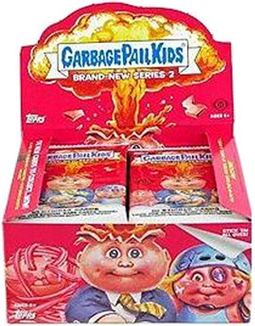 Garbage Pail Kids 2012 Brand New Series 2 Trading Card Sticker Box