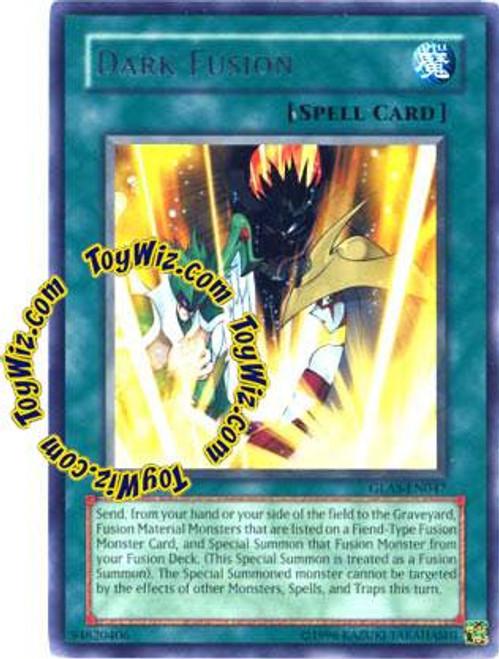 YuGiOh GX Gladiator's Assault Rare Dark Fusion GLAS-EN047