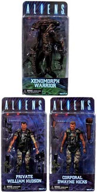 NECA Aliens Series 1 Set of 3 Action Figures