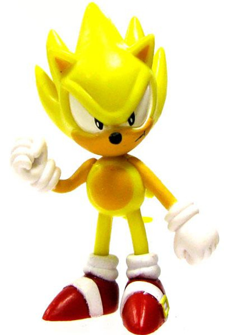 Sonic The Hedgehog Super Sonic 2-Inch PVC Figure [Loose]