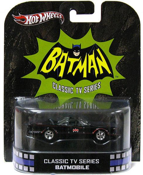 Batman Hot Wheels Retro Batmobile Diecast Vehicle [Classic TV Series]