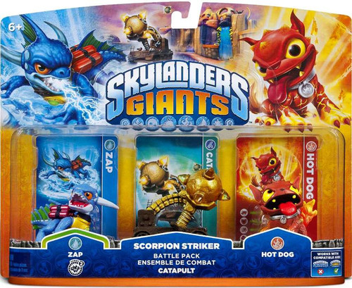 Skylanders Giants Scorpion Striker Battle Pack