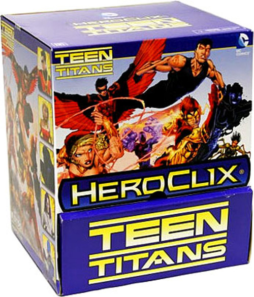 HeroClix Teen Titans Gravity Feed Booster Box